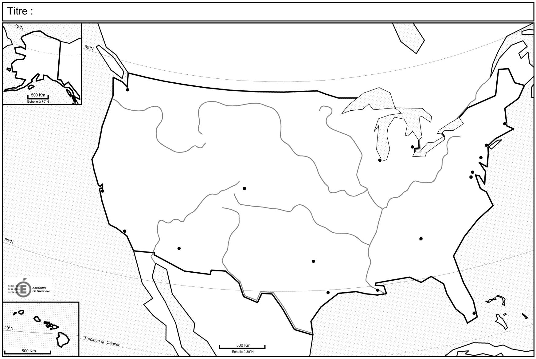 Carte Amerique Terminale Es.Les Fonds De Carte Officiels Du Programme De Terminale L