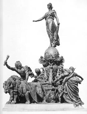 Jules Dalou, Le Triomphe de la République, La Revue de l'art ancien et moderne, 1900 (profil)