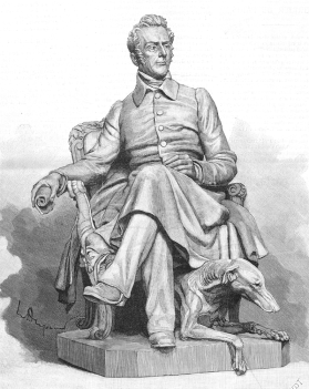 « La statue de Lamartine inaugurée le 7 juillet au square Victor-Hugo, désormais square Lamartine », Le Monde illustré, 10 juillet 1886