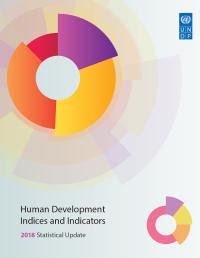 Indices et indicateurs du développement humain. Mise à jour statistique 2018