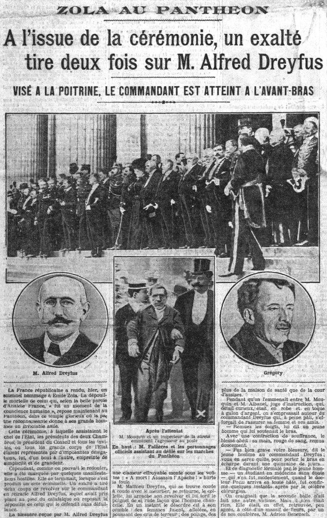 «Zola au Panthéon», Le Petit Parisien du 5 juin 1908