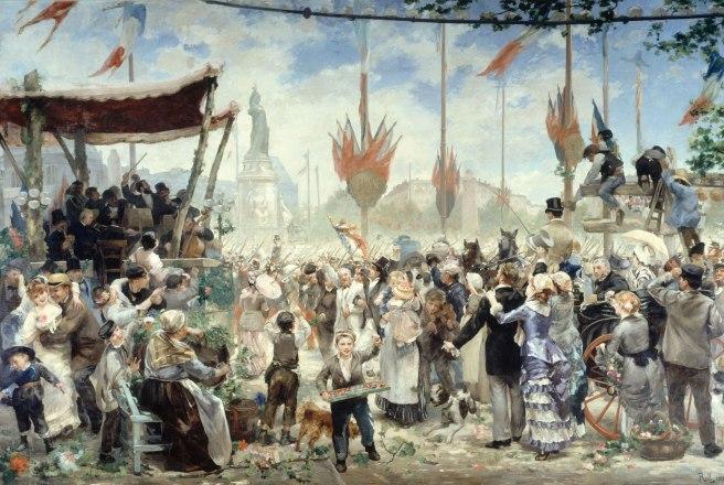 Alfred-Philippe Roll, La Fête du 14 Juillet, 1882